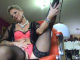 Amateurvideo #,,Nylonfetisch and <span class=