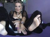 Amateurvideo Heels-Fuß CHALLANGE-Dirty-Talk from Sachsenlady