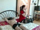 Amateurvideo ich mach DICH zu meinem Sklaven von TittenCindy