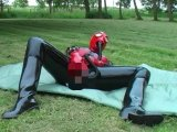 Amateurvideo Outdoor Dildomaske von FarmofPleasure
