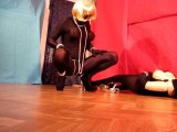 Amateurvideo Shemale feeling horny in her full spandex suit von transihansi