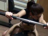 Amateurvideo Spontaner Fick im Fitness Studio! Orgasmus auf der Hantelbank! Nichtmehr17 von Nichtmehr17