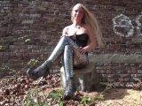 Amateurvideo Auftrag der Lady Outdoor Sklavenaufgabe von LadyKacyKisha