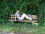 Amateurvideo Heels, Jeans-Mini and Long Legs von sexyengel