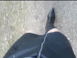 Amateurvideo Morgens im Nebel 1 ** Crossdress ** von nylonjunge
