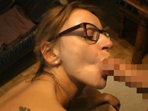 Amateurvideo Facial – SpermaBonbon für Brillenschlange von LissLonglegs