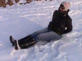 Amateurvideo Schnee enge Jeans von bondageangel