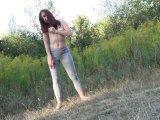 Amateurvideo Piss in Leggings von eroticnude