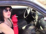 Amateurvideo Rauchende Zigarette in Handschellen 9. von bondageangel