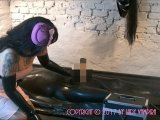 Amateurvideo A Pretty Latex Babe Makes You Come – In the Rubber Vacuum von LadyVampira