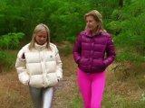 Amateurvideo Daunen Jacken tauschen mit Christina im Wald von sexyalina
