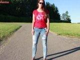 Amateurvideo Mitten auf der Straße, ich habe es wirklich getan von Annabel_Massina