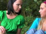 Amateurvideo dreier mit spanner von jungfotze