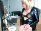 Amateurvideo Die Präsentation meines Lackkleides! von Schwanzmaedel12