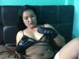 Amateurvideo Latex Gloves! Selbstbefriedigt! von sexynoy