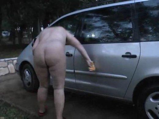 Her feet Nackt auto waschen pour réponse