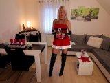 Amateurvideo Advent, Advent...die Fotze brennt | 3Loch-Fick mit SpermaEnd von Daynia