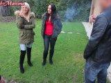 Amateurvideo Public Blowjob während nebenan Familie feiert von Annabel_Massina
