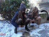Amateurvideo OUTDOOR-PISS - Mitten auf der Strasse pissen von sexynaty