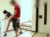 Amateurvideo Nach Sperma-Schlacht, Massenfick im Treppenhaus. (Von Nachba von Alexandra_Wett