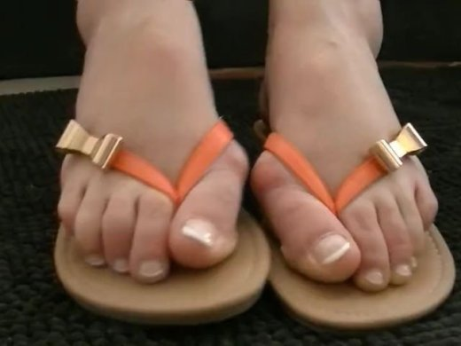 Fuesse in FlipFlops