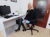 Amateurvideo Spritzige Gehaltsverhandlungen! 3Loch-MegaSquirt-Fick mit XX von Daynia