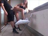 Amateurvideo Mega public auf d Balkon gefickt mit neuer mega geiler Blond von DonJohnXXX