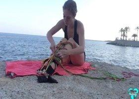 ProfeHera - Meerjungfrau-Schwanz mit Seilen