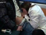 Amateurvideo Spontan Blowjob vor Touristen in Strassenbahn from Nichtmehr17