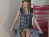Amateurvideo Kittel mit High Heels vom Körper reissen from sexyalina