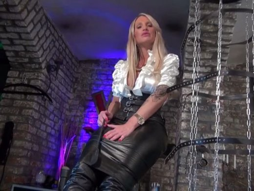 Leather Boots Cum Countdown
