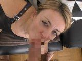 Amateurvideo Mega-Cumshot auf mein Lackkleid I POV from LissLonglegs