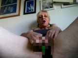 Amateurvideo mein kleiner grüner Dildo from Dirtysabi